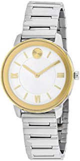 Movado Bold Silver-White Dial Ladies Watch 3600592