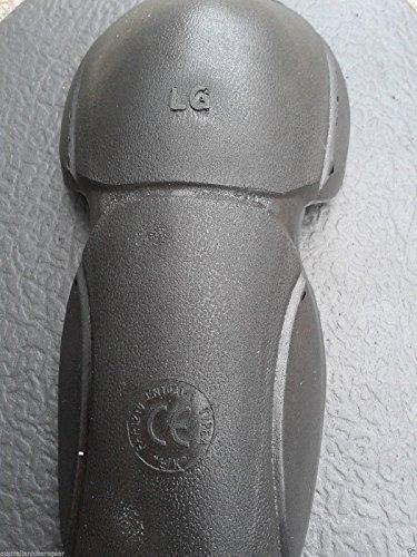 Damen Motorradjacke mit Kapuze – Komplett gefüttert – DuPont Kevlar Aramidfasern – CE-Protektoren – Schwarz – 46 (Herstellergröße:18) - 4