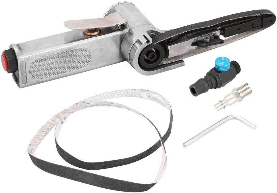 Akozon Air Belt Sander 10mm 16000RPM P Max 75% Year-end gift OFF Pneumatic