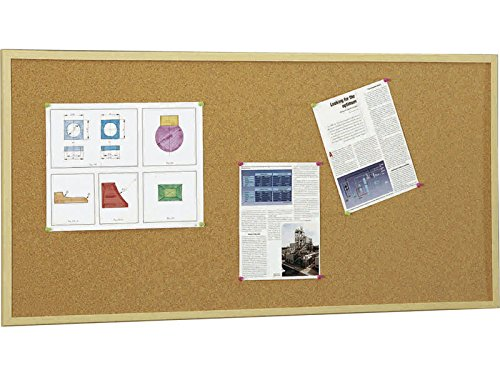 5 Star 607-3 - Tablero corcho marco madera, 60 x 90 cm