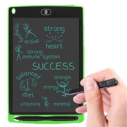 O-Tech LCD Writing Pad Gifts for Kids 8.5 Inch Handwriting Drawing Digital Writing Tablet and Pen with Erase Button Gifts for Kids Boys / Girls - Pack of 1