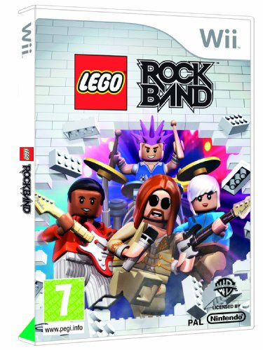 Lego Rock Band - Game Only (Wii) [Edizione: Regno Unito]