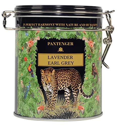 Lavender Earl Grey. 3.5 Ounce. Loose Leaf Black Tea Leaves, Bergamot Essential Oil and Lavender Blossoms. Pantenger Lavender Earl Grey Tea Loose Leaf. Makes up to 50 tea cups.