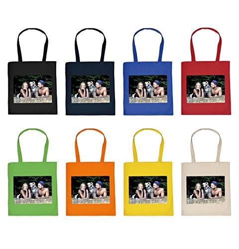 Stofftasche mit ihrem Foto - Fototasche - Fotodruck - Bilderdruck - Foto Stofftasche - Geschenktasche mit Bild - Textildruck