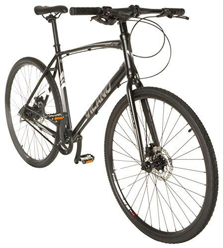 Vilano Diverse 4.0 Urban Performance Hybrid Road Bike, Belt Drive 8 Speed Alfine