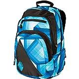 Nitro Stash Rucksack, Schulrucksack, Schoolbag, Daypack,  Geo Ocean, 49 x 32 x 22 cm, 29 L,