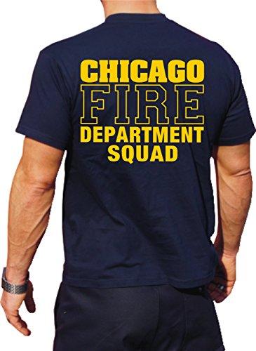 T-Shirt Chicago FIRE DEPT - Squad Company - Feuerwehr von Chicago
