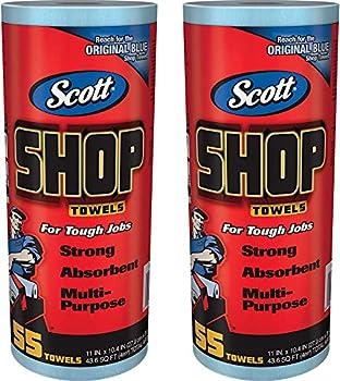 Scott 75130 Shop Towels 55 Towels 2 Pack