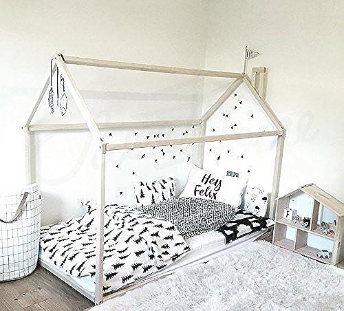 Montessori Hausbett 200x90cm