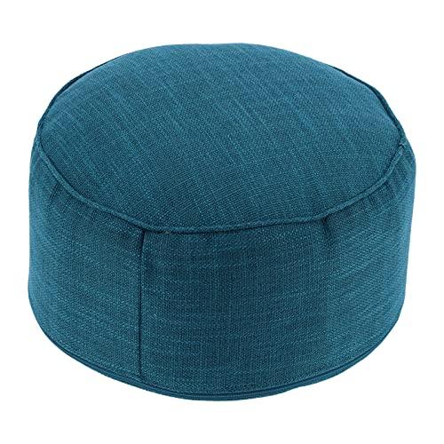 Almohada para el piso, pequeña y liviana, estable sin deformación, cojín para asientos, portátil y aplicable al aire libre, para acampar o jardinería, para barbacoa o picnic