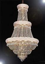 massive crystal chandelier