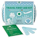 Yellodoor 84 Stück Mini Reise Erste Hilfe Kit. Enthält Schere