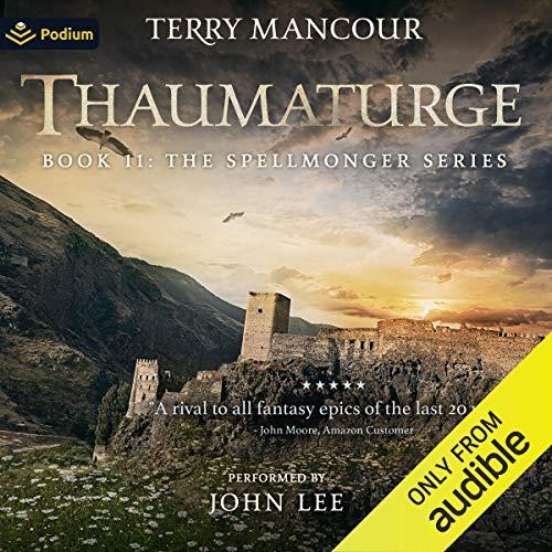 Thaumaturge audiobook cover art