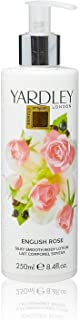 Yardley of London Silky Smooth Body Lotion for Women, English Rose, 8.4 Ounce