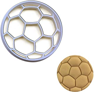 Soccer Ball cookie cutter (large size), 1 pc, Ideal as treats for sports team bonding