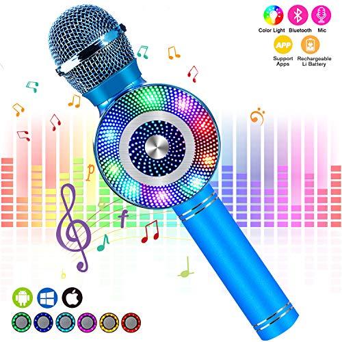 FishOaky Wireless Karaoke Microphone
