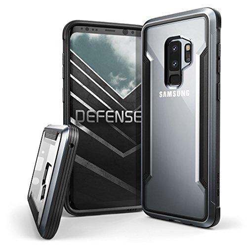 X-Doria Defense Shield - Caja de Aluminio para Samsung Galaxy S9 +, Color Negro