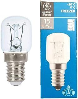 General Electric -30 Degree to 0 Degree Fridge Refrigerator Lamp - 230V 15W E14