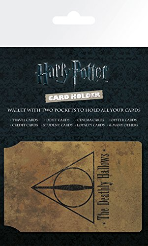 Harry Potter GB Eye LTD, Deathly Hallows, Tarjetero, Madera, Multi, Unico