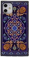 イングレム iPhone 11 ケース, カバー アラジン 耐衝撃 ストラップ ホール付き ハイブリッドケース KAKU アラジン/魔法の絨毯 IQ-DP21K3TB/AL003