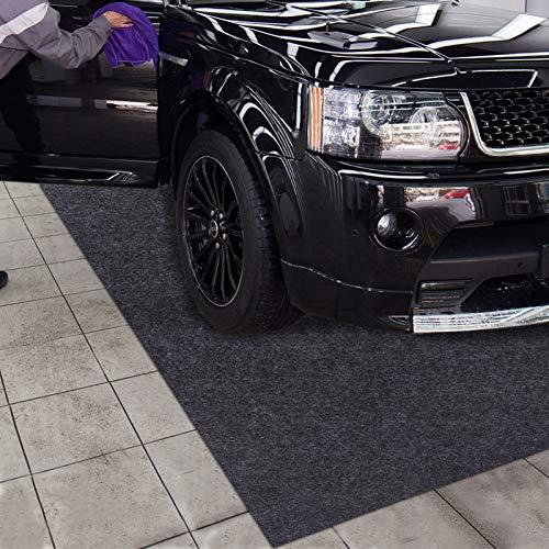 Parking Garage and Shop Floor Mats Under Cars (Garage Mats:7.56Feet x 21.1Feet)