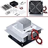 DC 12V Thermoelectric Peltier Refrigeration Cooling System Semiconductor Air Conditioner Cooler DIY Kit