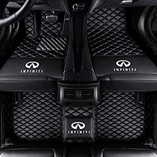 Fit for Infiniti QX Series Q Series Q50 Q60 Q70L QX30 QX50 QX60 QX70 20013-2019 All Weather Car-Styling Custom Luxury Waterproof Floor Mats Logo