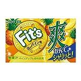 ロッテ Fit's(爽 金のパイン味) 12枚 ×10個