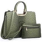 Fashion Shopping Women's Handbag Top Handle Shoulder Bag Tote Satchel Purse Work Bag with Matching