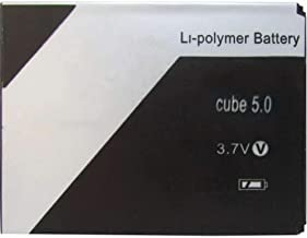 Screencart 100% New Replacement High Backup Compatilble Mobile Battery/Batteries for Xolo Cube5.0 (Check Your Old Battery Model Properly)