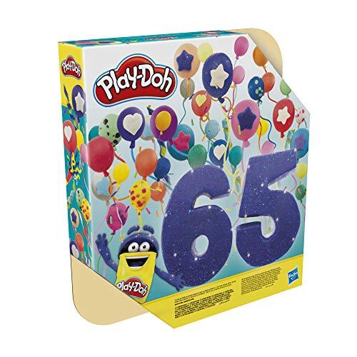 Conjunto Massa de Modelar Play-Doh Super Colecão de Cores, com 65 Potes de Massinha - F1528 - Hasbro