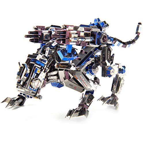 NINI Adulto Rompecabezas del Metal 3D Jigsaw Puzzle montado