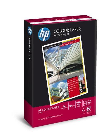 HP Colour Laser CHP751, Risma da 500 Fogli di Carta Comune Originale per Stampanti a Colori HP Laserjet, Formato A4, 210 x 297 mm, ColorLock, 100 g/m², Bianca