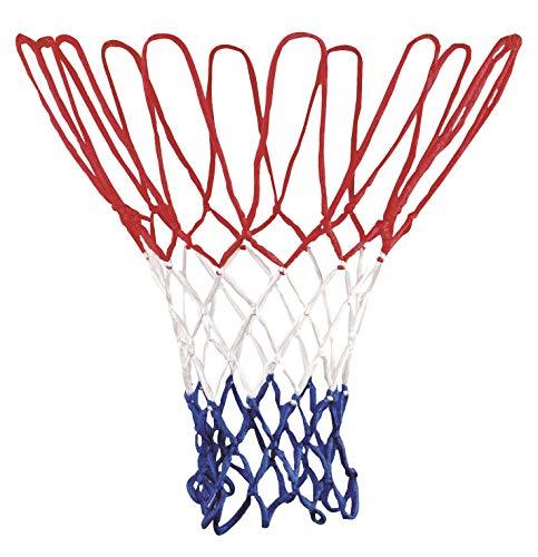 Basketballnetz Für Korb 43 cm lang für Metallringe Outdoor und Indoor mit Ø 45,7 cm (1 x Basketballnetz)