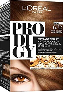 L'Oreal Paris Prodigy Hair Color Kit 6.32 Pearl Brown,100 gm