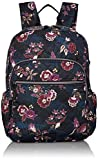 Vera Bradley Women's Performance Twill Campus Backpack, Garden Dream, One Size
