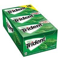 Trident シュガーフリーガム 特用サイズ 15パック入 (スペアミント) [並行輸入品]
