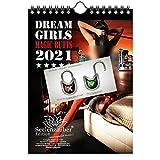 Calendario de pared 2021 (14,8 x 21,0 cm) chica con culo erotico sexy Butts Girls - Contenido del set de regalo: 1x calendario, 1x tarjeta de Navidad y 1x tarjeta de felicitación (3 partes en total)
