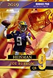 2019 JOE BURROW LSU Tigers - HEISMAN Rookie Pro - College Football Rookie Card