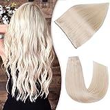 Creamily Human Hair Extensions Halo Hair...