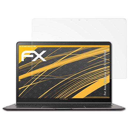 ultraklare FX Displayschutzfolie atFolix Schutzfolie kompatibel mit Asus ZenBook S13 UX392 Folie 2X