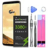 Galaxy S8 Battery,[Upgraded] 3380mAh Li-Polymer EB-BG950ABE Replacement Battery for Galaxy S8 SM-G950 G950V G950A G950T G950P G950R4 with Screwdriver Tool Kit [3 Years Warranty]
