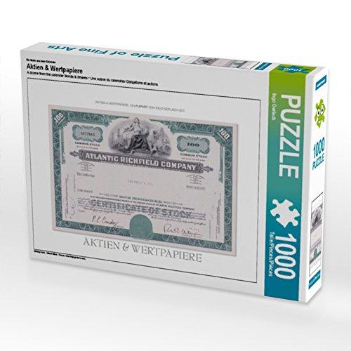 CALVENDO Puzzle Aktien & Wertpapiere 1000 Teile Lege-Größe 64 x 48 cm Foto-Puzzle Bild von Ingo Gerlach