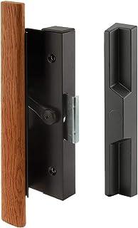 Slide-Co 141753 Sliding Door Wood Handle Set, Black/Aluminum/Diecast