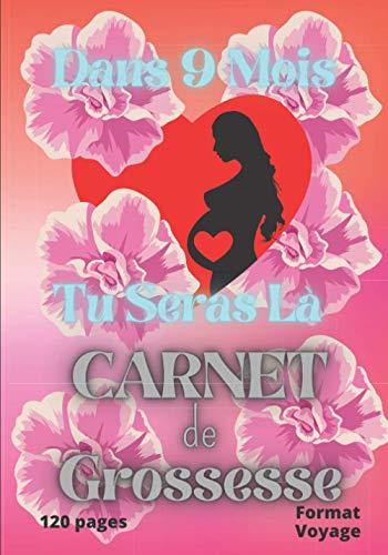 Dans 9 Mois Tu Seras Là Mon Bébé: Carnet de Grossesse : Gardez en mémoire les souvenirs de votre grossesse / Pour les femmes enceintes / Journal intime de suivi à compléter avec photos