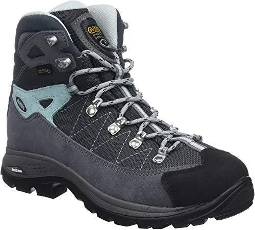 Asolo Women's High Rise Hiking Shoes, Grey Grigio Gunmetal Bleu Pool A177, 6.5 UK