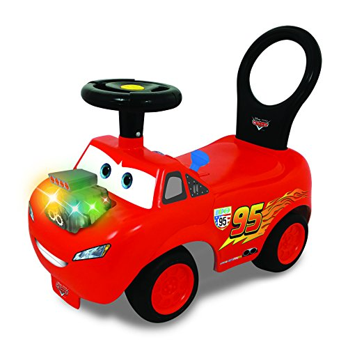 Disney 0706023–Cars revvin Activity Ride on
