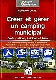 créer un camping