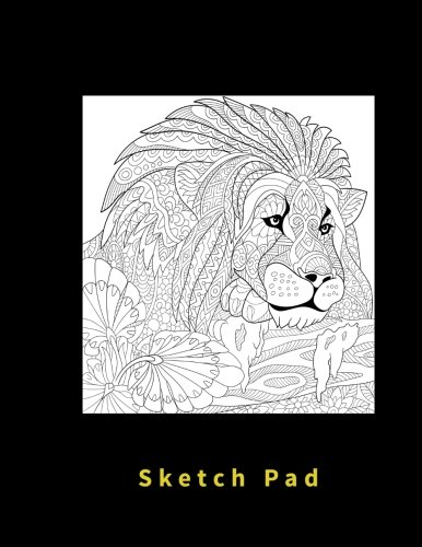 Price comparison product image Sketch Pad: Blank pages,  110 pages,  White paper,  Sketch,  Draw and Paint