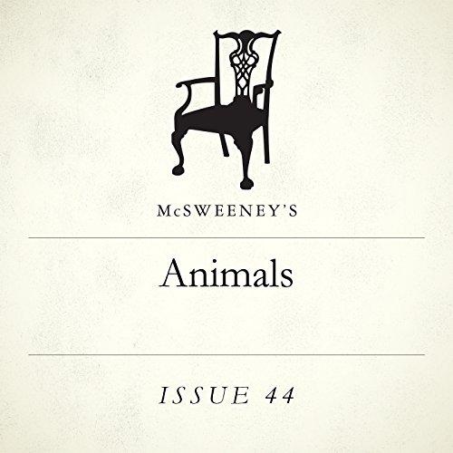 Animals audiobook cover art